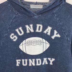 Project Social T Tops - 🌸Project Social T Sunday Funday Blue Hoodie